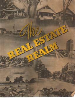 Real Estate Realm 1948 Rbt Morris brochure