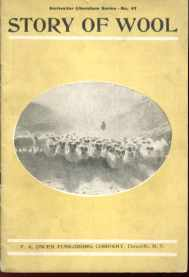 Story of Wool copyright 1906 illustrated