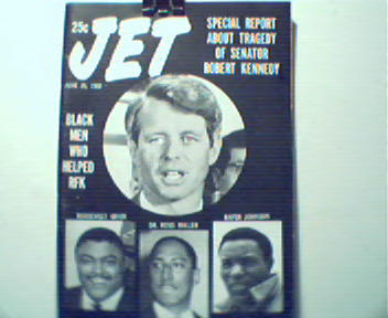 JET-6/20/68-Death of RFK, Rosy Greir Grabs Si