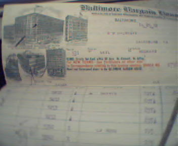 Baltimore Bargain House Bill Head From 10/12