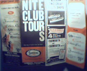Nite Club Tours of the Miami Florida Area!