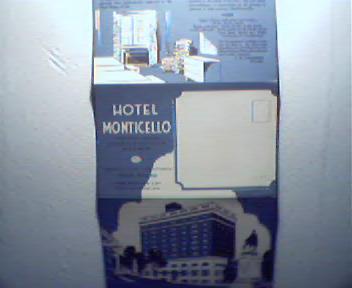 Hotel Monticello in Charlottesville Virginia