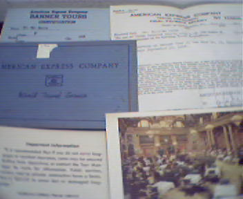 American Express Travel Info from 1948!