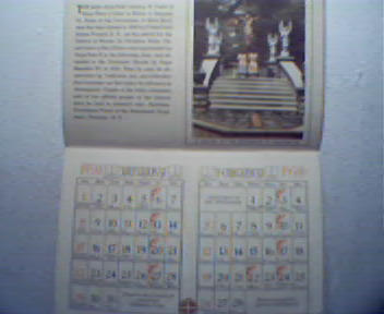 1950 Graymoor Calendar! Great Photos!
