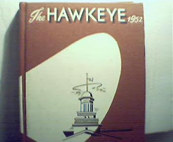 """1952 Iowa  U""""Hawkeye""""Basil Rathbone Visits!"""