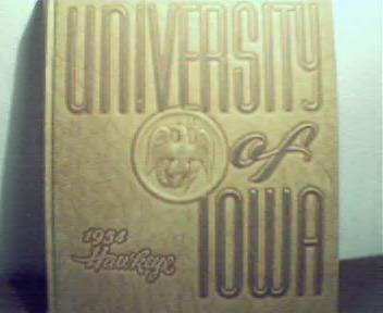 1954 University of Iowa Hawkeye! Dorothy Lamour Visits!