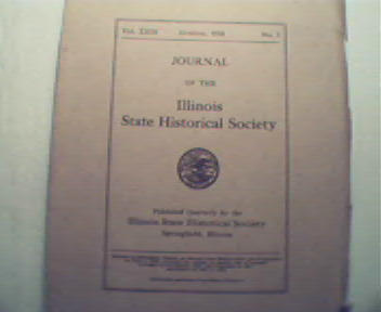 Journal of the Illinois State Historical Society-10/30