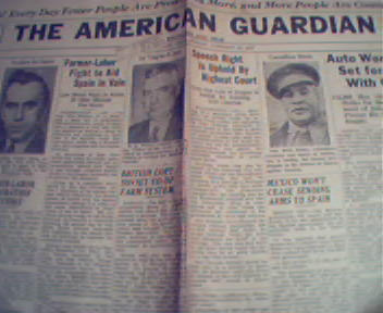 American Guardian-1/15/37 General Motors, John Smiths!