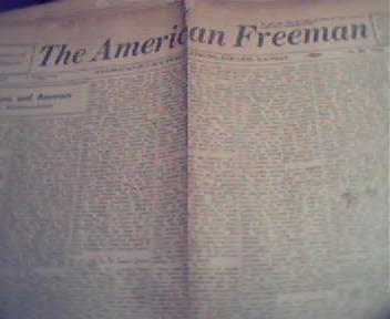 American Freeman-2/36 Tomato, Facism,McAddoo!