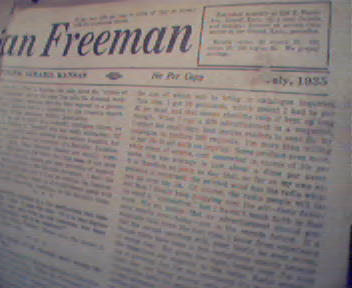 American Freeman-7/35 Paul Revers Horse,Lynching