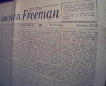 American Freeman-10/35 Upton Sinclair Letter!MDietrich!