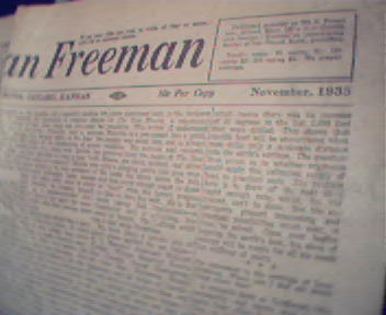 American Freeman-11/35 Marx,Mary Pickford,GertrudStein!