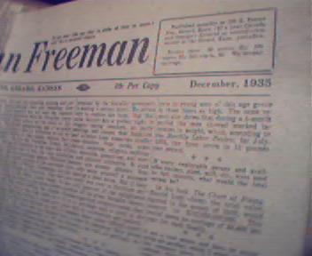 American Freeman-12/35 Homosexuality Curable?More