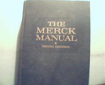 Merck Manual of Diagnosis and Thearapy c1961