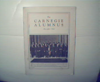 Carnegie Alumnus-12/1927 Carnegies Birthplace Photo!
