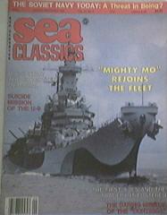 Sea Classic 9/86 U.S.S. UTAH, U-9, MIGHTY MO, CONTESSA