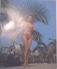 Vintage color print So Long Beautiful Pin-Up