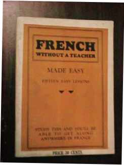 French without a Teacher Made Easy 1930s?