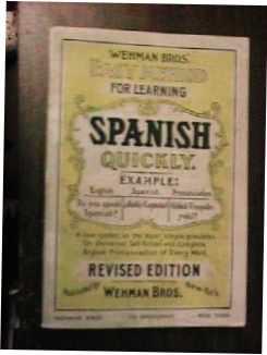 Wehman Bros Easy Method Spanish 1938