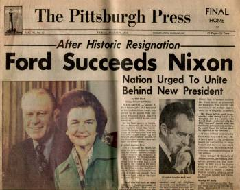 Newspaper; Aug 9, 1974