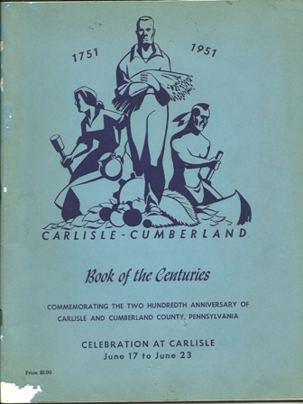 Carlisle-Cumberland Book of the Centuries June,1951