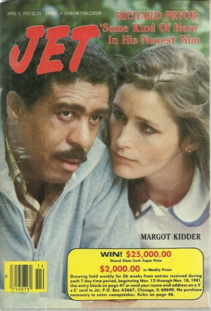 Jet Magazine April 5,1982 Vol 62,No.4 Richard Pryor