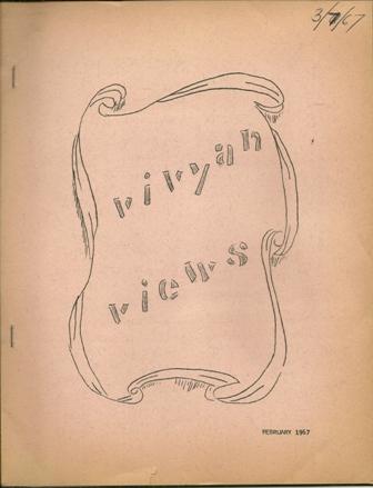 VIVYAN VIEWS,JOHN VIVYAN FAN CLUB, FEB.,1967