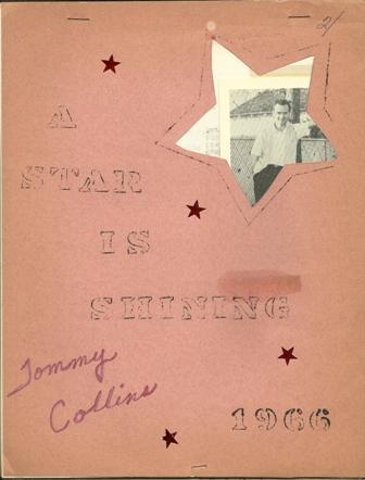 A STAR IS SHINING FAN CLUB JOURNAL 1966 TOMMY COLLINS