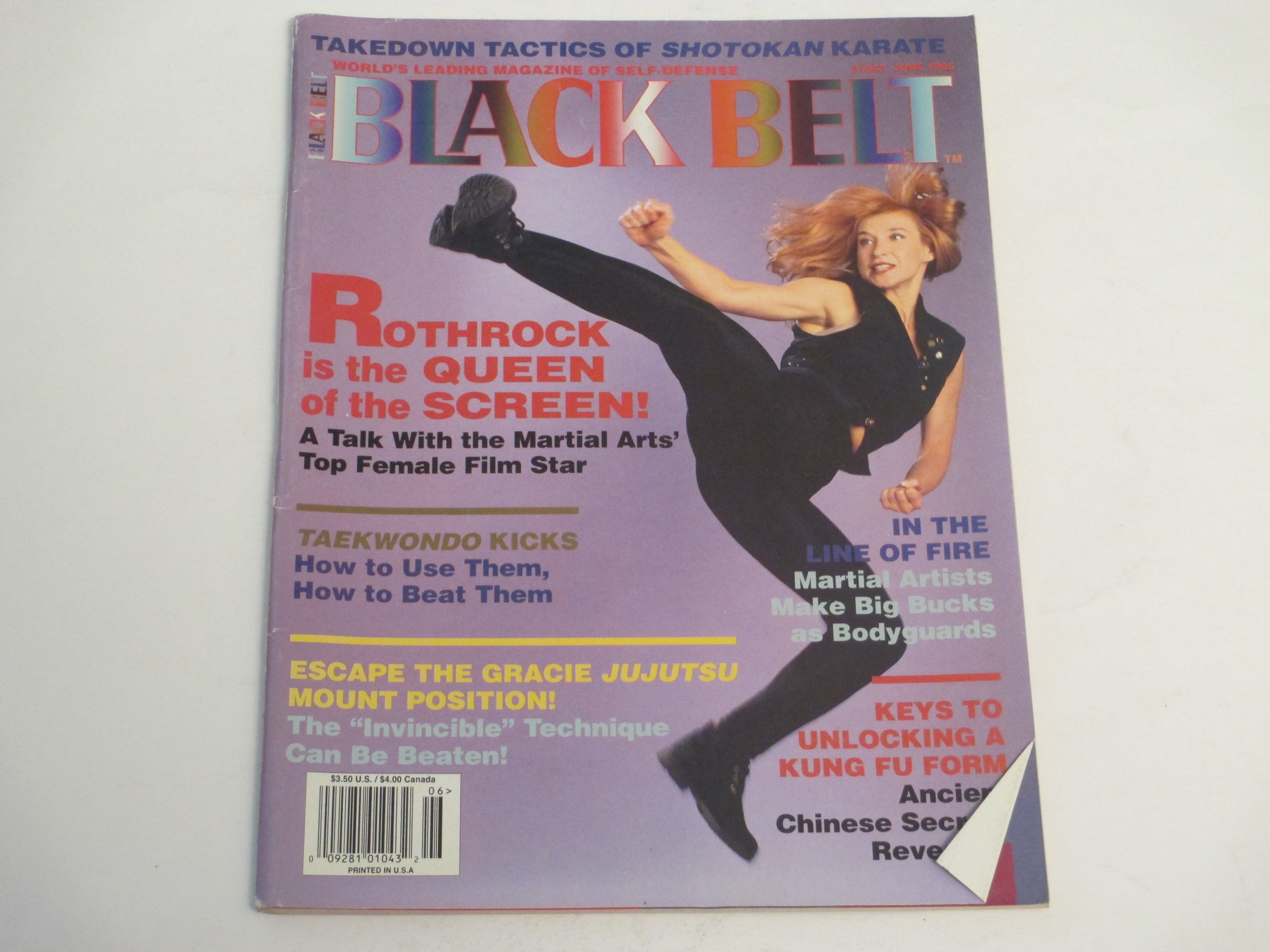 crowntiques.com: Black Belt Magazine- 6/1995- Cynthia ...