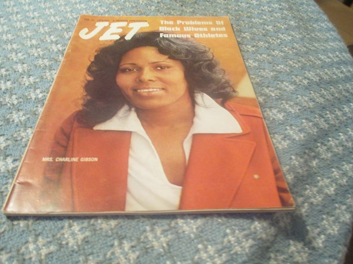Crowntiques Jet Magazine 2 21 1974 Black Wives Famous Athletes