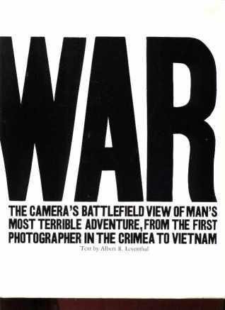 WAR Photos Crimea to Vietnam 1973 Book NM